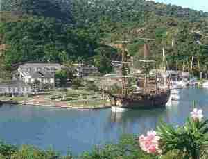 Nelson's Dockyard, Antigua, today.