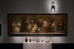 Satanic invocation (Room 67). Photo: Pedro Albornoz/Museo Nacional del Prado.